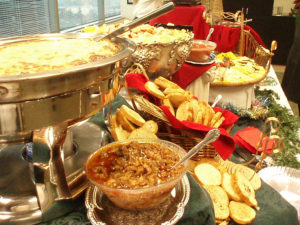 Holiday Catering - Christmas buffet